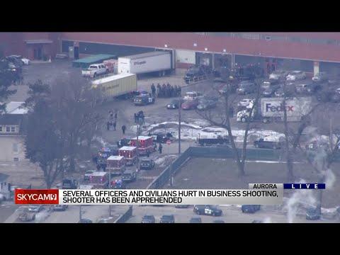 Gunman in custody in active shooter situation in Aurora