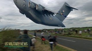 Video One Of Largest Military Cargo Aircraft in the World MP3, 3GP, MP4, WEBM, AVI, FLV Oktober 2017
