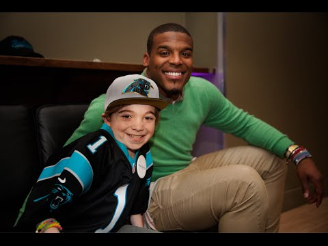 Watch: Cam Newton Makes A Kid's Dream Come True