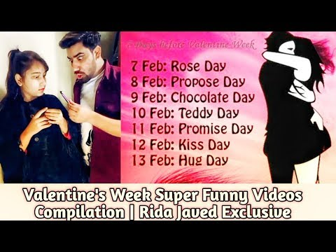 Valentine's Week Special  Rida Javed Exclusive Funny Videos  7 Manhus Din