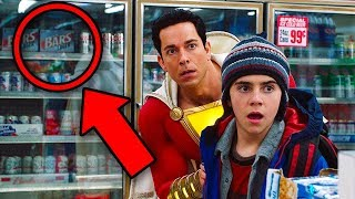 SHAZAM Breakdown! All DCEU Easter Eggs & Details You Missed!