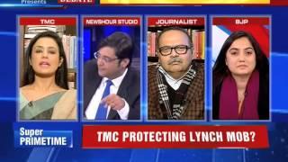 Video TMC Politician Showing Middle finger to Arnab in frustration MP3, 3GP, MP4, WEBM, AVI, FLV April 2019