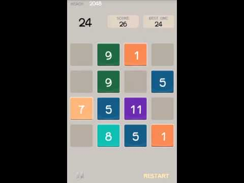 Video of 2048 New Challenge