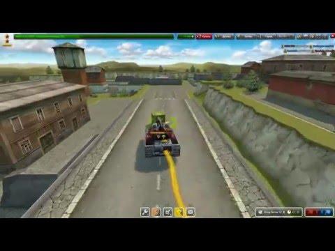 Tanki Online Побег от полиции #1