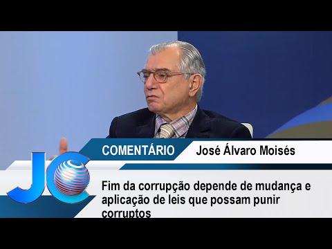 Fim da corrupção depende de mudança e aplicação de leis que possam punir corruptos, afirma Moisés