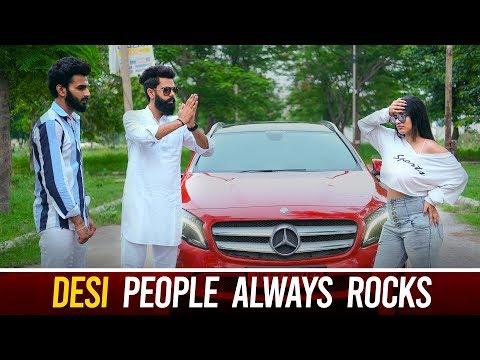 Desi People Always Rocks | Karamjale | Dheeraj Dixit