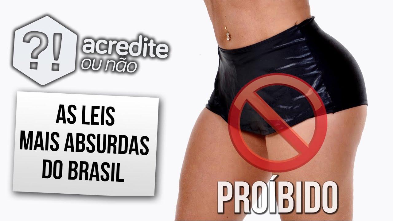As leis mais absurdas do Brasil que você não vai acreditar