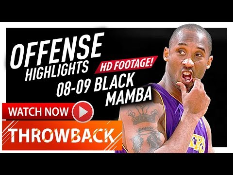 Kobe Bryant AMAZING Offense Highlights 2008/2009 - BLACK MAMBA MODE! (720p HD)