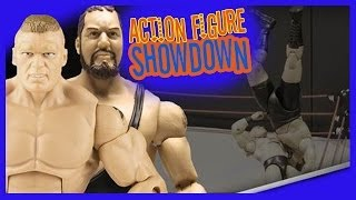 Watch Brock Lesnar superplex Big Show off the top rope in this action figure theater, presented by WWE Universe member, mbg1211. https://www.youtube.com/use...