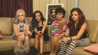 LITTLE MIX FULL INTERVIEW: One Direction engagement rumours, nails, Rihanna and America