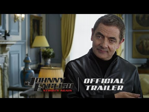 The First Trailer for Johnny English Strikes