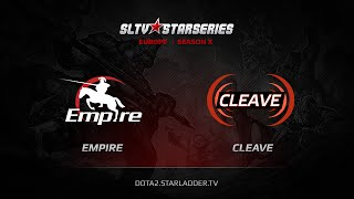 Empire vs Cleave, game 1