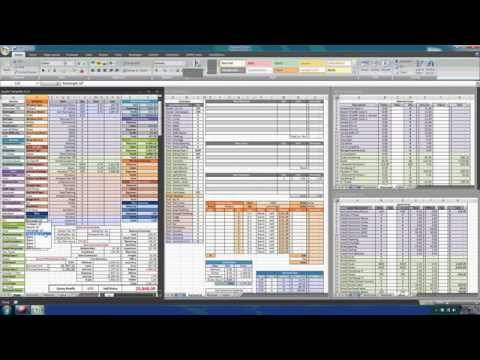 Construction Estimating with Excel