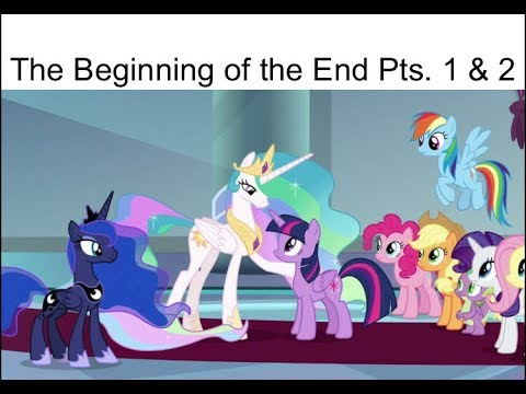 "Blind Reaction: MLP FIM Season 9 Episodes 1 & 2 ""The Beginning of the End"""