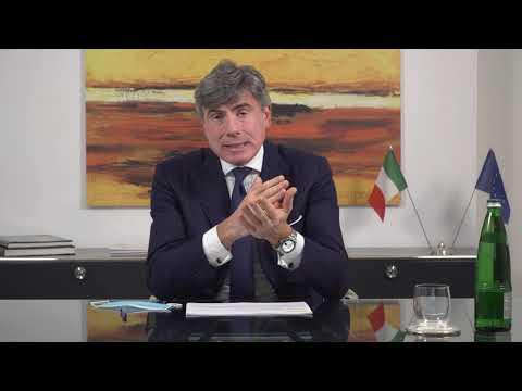 Pierfrancesco Latini, AD SACE, all'inaugurazione della sede CDP Ancona