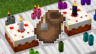 Bundles, Candles, And More In Minecraft 1.17