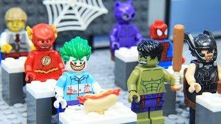 Video Lego Superhero School of Avengers and Justice League MP3, 3GP, MP4, WEBM, AVI, FLV Februari 2019
