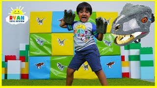 Video Giant Smash Surprise Jurassic World Dinosaurs Toys!!! MP3, 3GP, MP4, WEBM, AVI, FLV Juli 2018