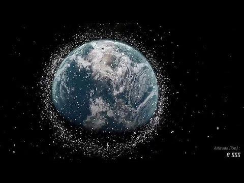 Κίνδυνος τα διαστημικά σκουπίδια για τους τεχνητούς δορυφόρους