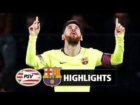 Barcelona vs. PSV Eindhoven HighLights | Champions League 2018