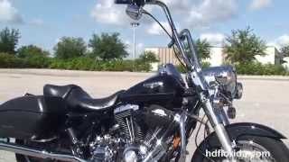 5. Used 2007 Harley Davidson  Road King Custom Motorcycles for sale