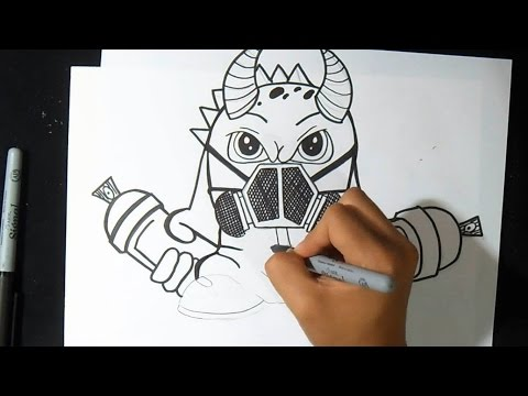 como dibujar Ojo mutante 2 , by Dw ZäX , Youtube Downloader mp3