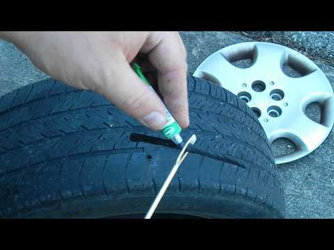 Video How to Repair a Punctured Tire download in MP3, 3GP, MP4, WEBM, AVI, FLV January 2017