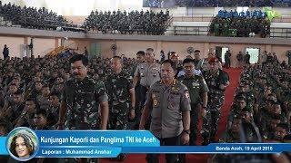 Kunjungan Kapolri dan Panglima TNI ke Aceh, Begini Arahannya