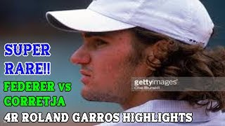 Rare scenes from Baby Fed vs Corretja! I chose to show a lot of the points as it's a great case study on the evolution of the G.O.A.T.'s game! Special Note: This is ...