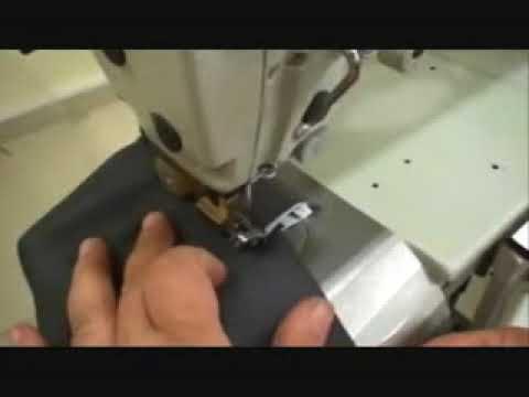 1250/1 Kumaş Pantolon Gizli Kemer Baskı Makinesi