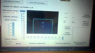 seguimiento de objetos con arduino y c#