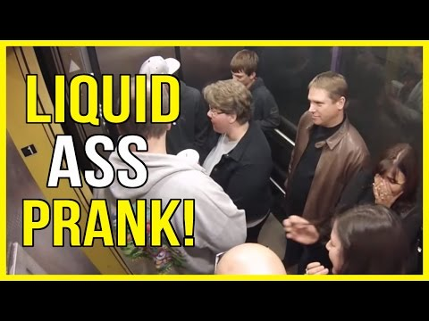 Liquid Ass Elevator Prank! Greatest Elevator Pr...