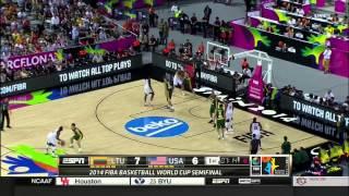 Fiba 2014 World Cup Semifinals USA 96 Lithuania 68