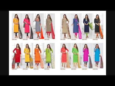 Buy Bundle of 16 Cotton Dress Materials at Wholesale Price