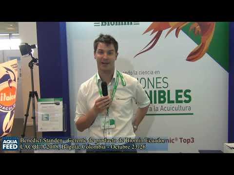 Benedict Standen   Gerente de producto de Biomin Ecuador