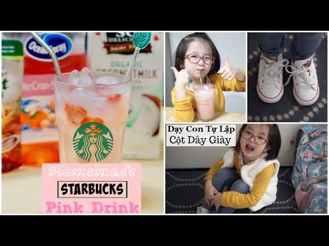 Làm Pink Drink Của STARBUCKS Tại Nhà ♥ Nấu Cơm Chiều ♥ DONUT TỰ CỘT GIÀY | mattalehang - Thời lượng: 19 phút.