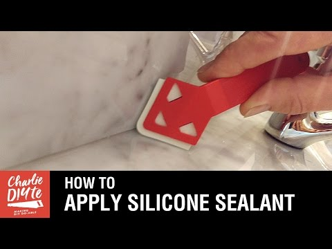 How to Apply Silicone Sealant - the Easy Way!