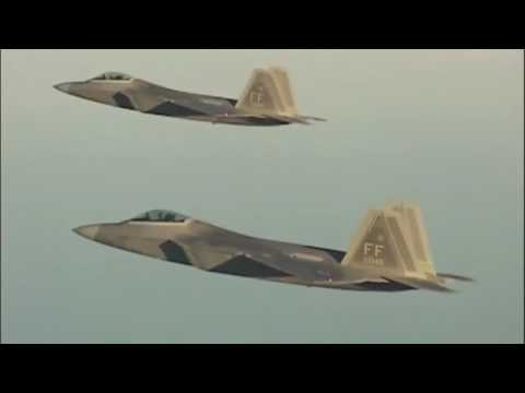 The Lockheed Martin F-22 Raptor...