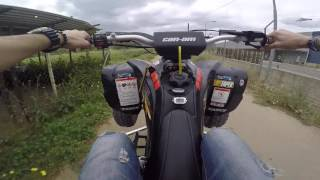 8. Can-Am ds 450 On Board Top Speed