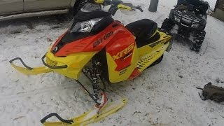 4. 2015 Ski Doo MXZ XRS Ripping Right out of the Crate