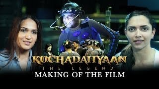 Making Of - Kochadaiiyaan (The Legend) | Rajinikanth & Deepika Padukone