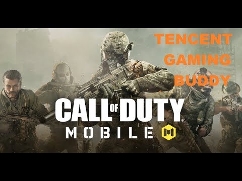 Call Of Duty Mobile In Tencent Gaming Buddy 100% Working