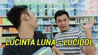Video LUCINTA LUNA JADI LUCIDOL!! | PLESETAN CHALLENGE Ft HAGZ (alvinvajhrin) MP3, 3GP, MP4, WEBM, AVI, FLV November 2018