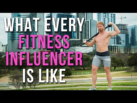 What Every Fitness Influencer Is Like JP