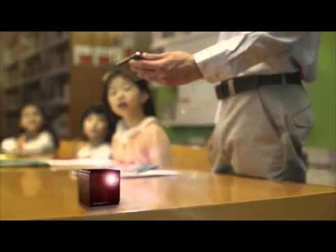 韓國公司發表目前世界上最小台的高清投影機,以後整個城市都是你的電影院!