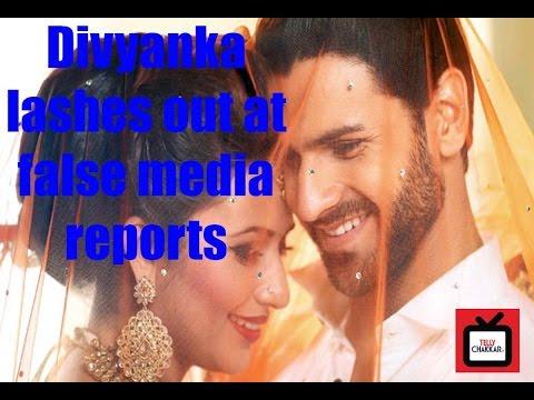 Divyanka Tripathi lashes out at false media report