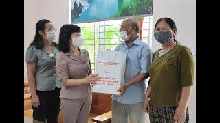 Phó Chủ tịch Thường trực HĐND tỉnh Trịnh Thị Minh Thanh thăm, tặng quà người có công trên địa bàn thành phố
