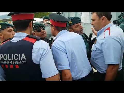 Referendums-Nachspiel: Polizei in Katalonien