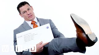 Video John Cena Answers the Web's Most Searched Questions | WIRED MP3, 3GP, MP4, WEBM, AVI, FLV Maret 2018
