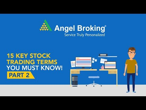 Stock Trading Terms you Must Know - Part 2
